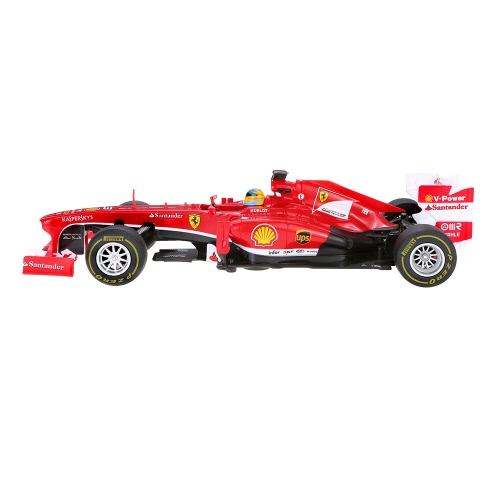 Original RASTAR 53800 1/18 Ferrari F1 RC Radio Remote Control Car Speed Racing Car Drift Track Vehicle Boys Toy Gift