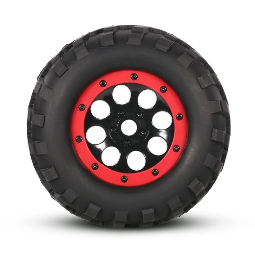 2Pcs AUSTAR AX-3011 155mm 1/8 Monster Truck Tires with Beadlock Wheel Rim for TRAXXAS SUMMIT E-Revo HPI Savage XL Flux HSP RC Car