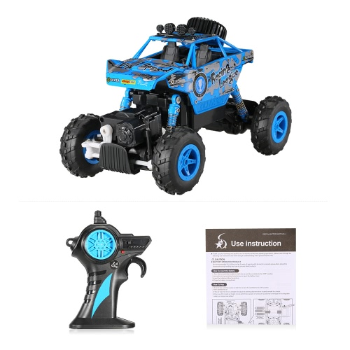 CREATIVE DOUBLE STAR 1150 1/20 2.4G 4WD RTR King Turned Climb Off-road Rock Crawler RC Car