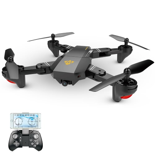 VISUO XS809HW Wifi FPV Foldable RC Quadcopter 3* batteries Version