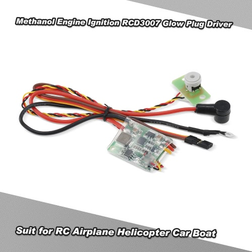 RC Methanol Engine Ignition RCD3007 Remote Heat Head Driver Glow Plug Driver for RC Airplane Helicopter Car Boat