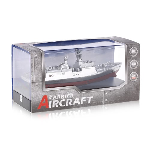 Original Create Toys Sea Wing Star 3318 2.4GHz All Direction Navigate Mini Radio Control Electric Warship Boat RTR