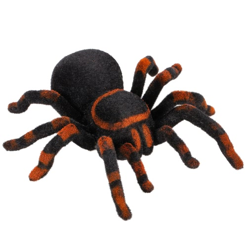 Radio Control RC Simulation Furry Tarantula Electronic Spider Toy Kids Gift Halloween Surprise