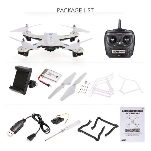 S5W Wifi FPV 720P RC Quadcopter – RTF