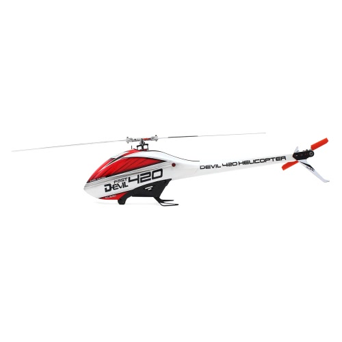 ALZRC Devil 420 FAST Flybarless Belt Drive 6CH 3D Helicopter Standard Combo Set with Motor ESC
