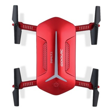 GoolRC T37 Mini 2.4G 6-Axis Gyro WIFI FPV 720P HD Camera Quadcopter Foldable G-sensor RC Selfie Pocket Drone Two Extra Battery