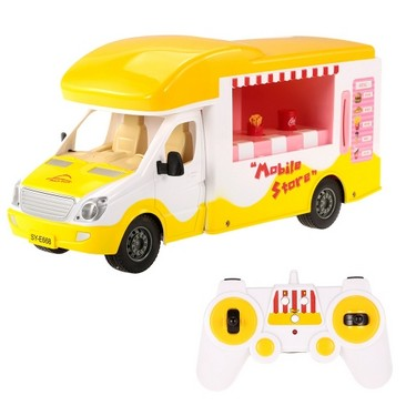 Double E E668-003 2.4G 1/18 RC Mobile Store Self-service Buffet Car Intelligent Coin Shopping Vehicle Toy