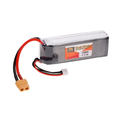 ZOP Power 3S 11.1V 2200mAh 30C LiPo Battery XT60 Plug