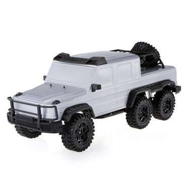 HG-P601 2.4G 1/10 6WD RC Buggy Car Professional Rock Crawler Two Speed Switch Gearbox Adjustable Wheelbase RTR