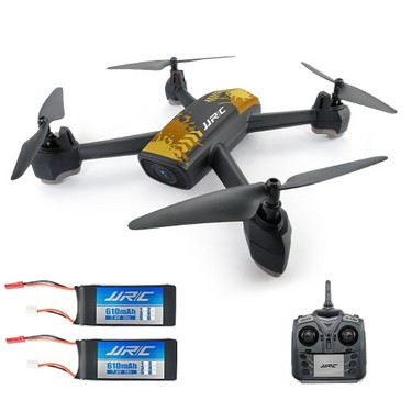 Original JJR/C H55 Tracker 2.4G 720P Camera Wifi FPV GPS Positioning Altitude Hold RC Quadcopter w/ Two Batteries