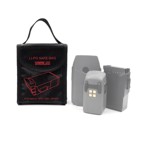 STARTRC Battery Fireproof Explosionproof Storage Bag Case Safety For DJI Mavic AIR PRO Spark Drone
