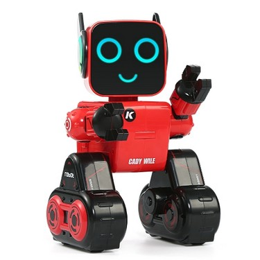 JJRC R4 CADY WILE 2.4G Intelligent Remote Control Robot Advisor RC Toy Coin Bank Gift for Kids
