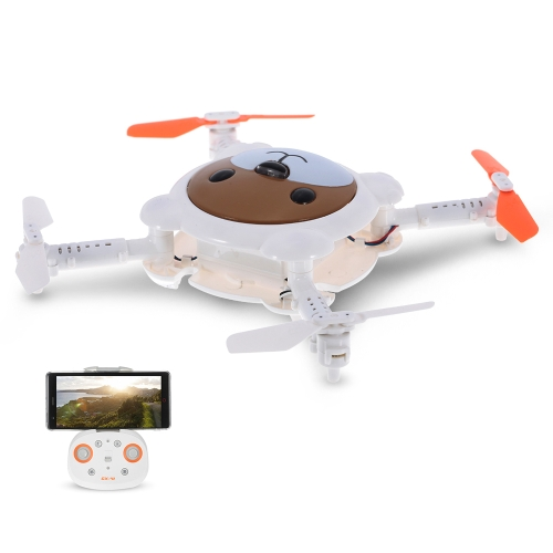 Cheerson CX-41 0.3MP Camera Wifi FPV Folding Bear Drone Altitude Hold Optical Flow Sensor Programmable Selfie Quadcopter