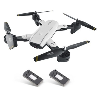 SG700 Dual 2.0MP Gesture Photo Taking Drone RC Quadcopter with Two Batteries