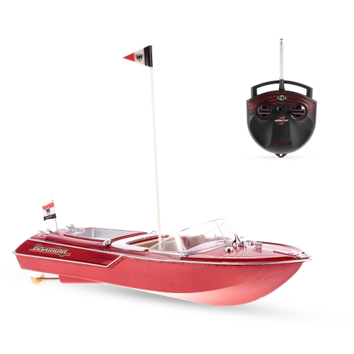 Flytec HQ2011-1 27MHz 2CH 15km/h High Speed Boat Electric RC Ship Toy Children Gift