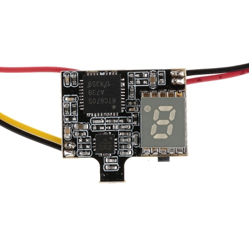 VTX03 Super Mini 5.8G 72CH 0/25mW/50mw/200mW Switchable FPV Transmitter for RC Micro Racing Drone Qaudcopter