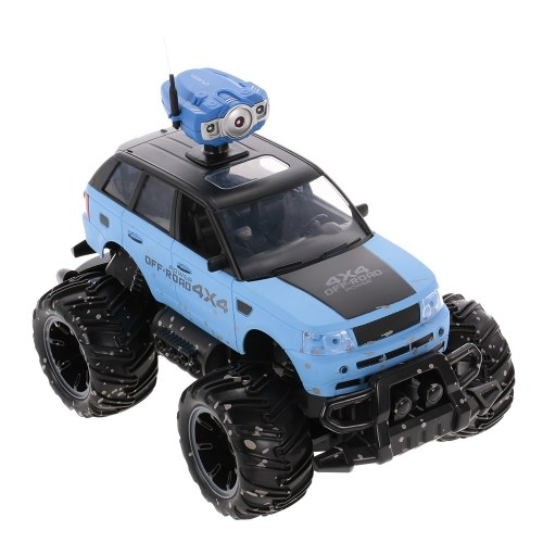Crazon 18MUD01 1/14 2.4G 2CH 2WD High Speed 15km/h Off-Road Car with 0.3MP Wifi FPV Camera RC Monster Truck Children Gift Kids Toy