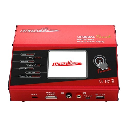 ULTRA POWER UP300AC Touch High Power 300W 1-6S LiIo/LiPo/LiFe/LiHV/NiCd/NiMH Battery Balance Charger Discharger