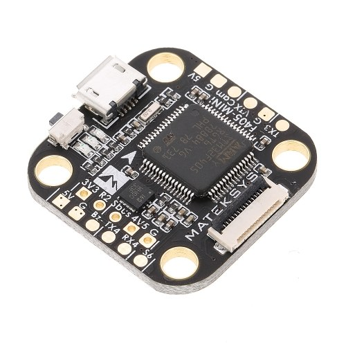 Matek F4 F405 Mini Flight Controller with OSD 32K Gyro 32M Flash BEC for RC Drone FPV Racing Quadcopter