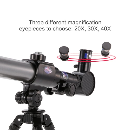 C2105 Early Development Science Telescope with Compass Three Different Magnification Eyepieces