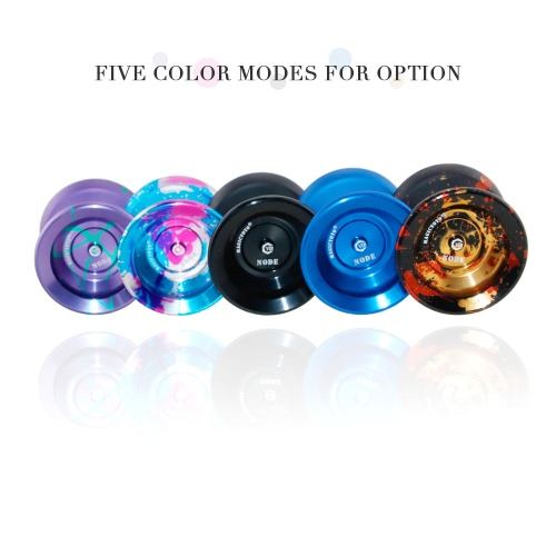 MAGICYOYO-Y01 Polished Alloy Aluminum Professional Unresponsive Yoyo Ball Spin Toy for Kids