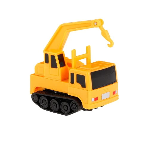 GOLD LIGHT Magic Mini Contruction Truck Set Follow Black Drawn Line Toy Car