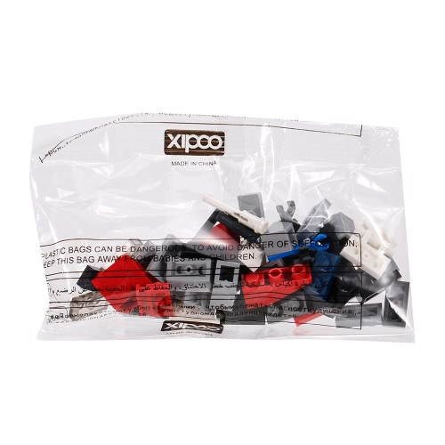 6-in-1 XIPOO 1230pcs XP91016 Military Series The King of Destroyer Building Blocks Educational Toys