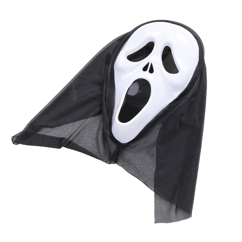 Halloween Costume Scary Skeleton Mask Ghost Clothes