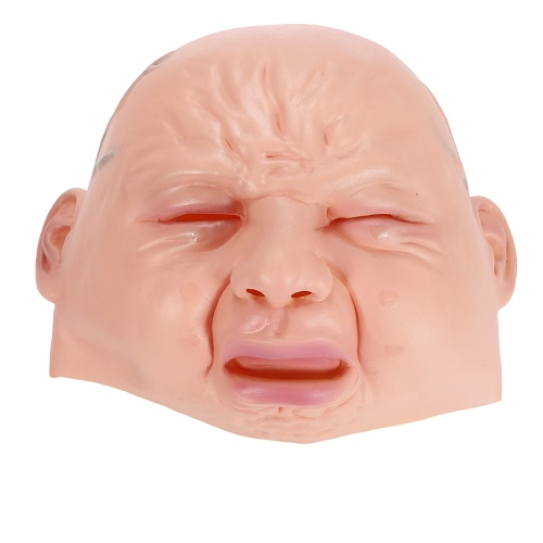 Crying Face Mask Horror Ghost Headgear Monster