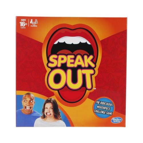 Speak Out Game Expansion Party Card Play Hilarious Fun with 5 Mouthpieces