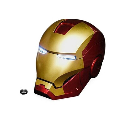 Super Hero Iron Man 1/1 Mark3 Full Scale Wearable Helmet Mask Replica for Festival Party Decoration Kids Toys