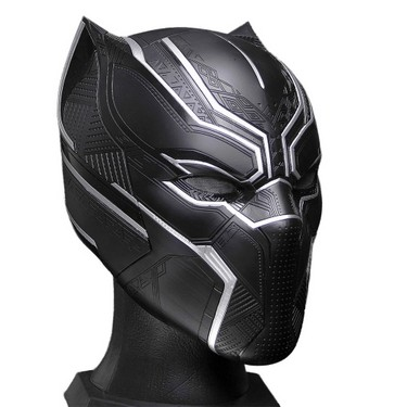 1:1 Black Panther Helmet Wearable Mask for Halloween Festival Party Decoration Kids Toys