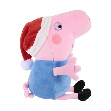 Original Brand Peppa Pig 30cm Brother George Stuffed Plush Toy Family Party Christmas New Year Gift for Kids