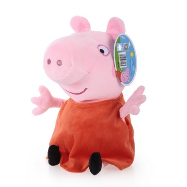 Original Brand Peppa Pig 30cm Peppa Stuffed Plush Toy Family Party Doll Christmas New Year Gift for Kids