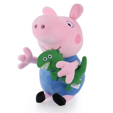 Original Brand Peppa Pig 30cm Brother George Stuffed Plush Toy Family Party Doll Christmas New Year Gift for Kids