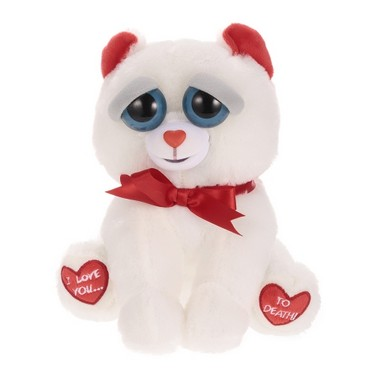 Feisty Pets Bear Taylor Truelove Feisty Films Adorable Plush Stuffed Toy Grins from Ear to Ear – Valentine's Gift Version