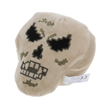 Minecraft Skeleton with Black Eyes Plush Stuffed Toy Best Gift for Child and Collectors