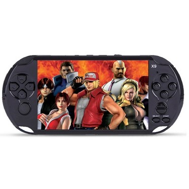 Handheld Game Console 8GB 5in Pocket Player Game with 350 Classic Games 0.3MP Camera Support AV Output Video & Music Playing