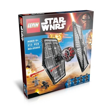 Original Box LEPIN 05005 562pcs Star Wars First Order Special Forces TIE Fighter – Star Wars Spaceship Building blocks Kit Set
