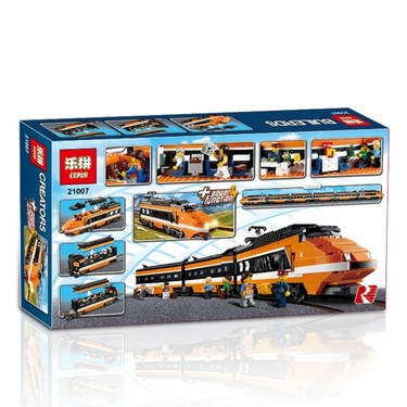 Original Box LEPIN 21007 1351pcs Technic Series Creator Horizon Express Model Building Blocks Bricks Kit