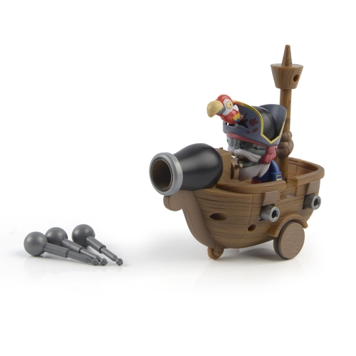 Plants VS Zombies Pirate Ship Set Game Figure Toy Kids Dolls Birthday Gift