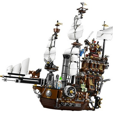 Original Box LEPIN 16002 2791pcs Movie Series Metal Beard's Sea Cow Model Building Blocks Bricks Kit