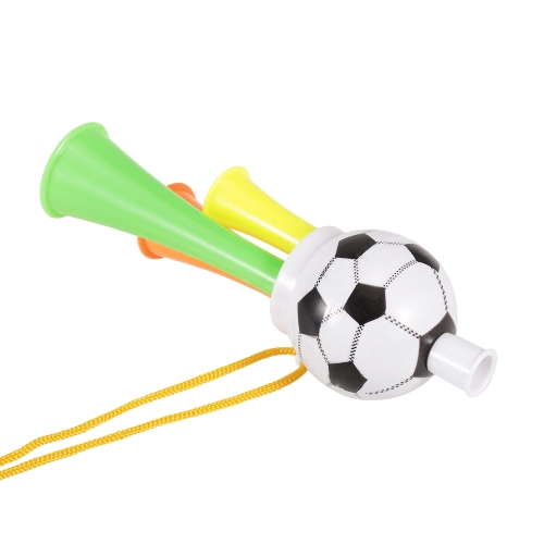 1Pcs Plastic Trumpet Toy with Portable String Cheer Up Horn for Sporting Events and Party Atmosphere Making – Small
