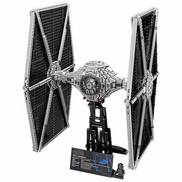 LEPIN 05036 1685pcs Star Wars TIE Fighter Spaceship Building Blocks Kit Set – Plastic Bag Packaged