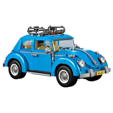 Original Box LEPIN 21003 1193pcs Creator Expert Volkswagen Beetle Model Building Blocks Bricks Kit