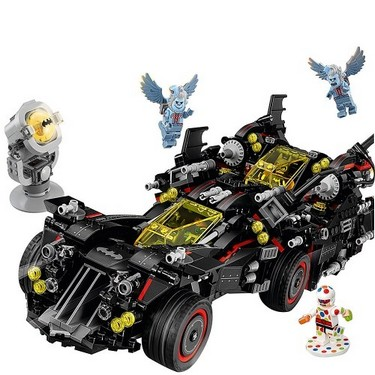 LEPIN 07077 1496pcs Super Heroes Series The Ultimate Batmobile Model Building Blocks Bricks Kit – Plastic Bag Packaged