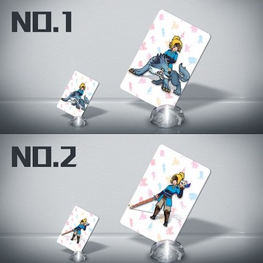 22pcs NFC 215 Tag Game Cards For Switch/Wii U – Standard Size
