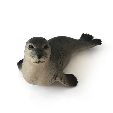 Marine Life Toys Seal Model Animal Action Figure Toy for Pretend Play and Themed Party