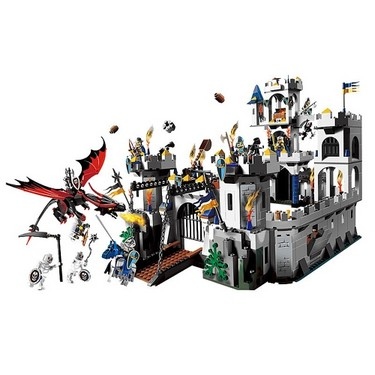 Original Box LEPIN 16017 1023pcs Movie Series King's Castle Siege Model Building Blocks Bricks Kit Set
