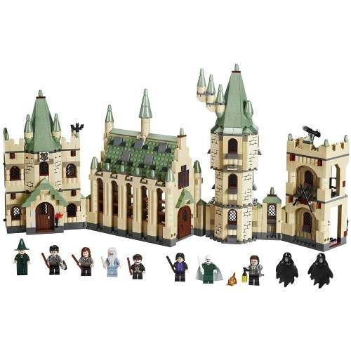 LEPIN 16029 1033pcs Movie Series Harry Potter Hogwarts Castle Model Building Blocks Bricks Kit Set – Plastic Bag Package